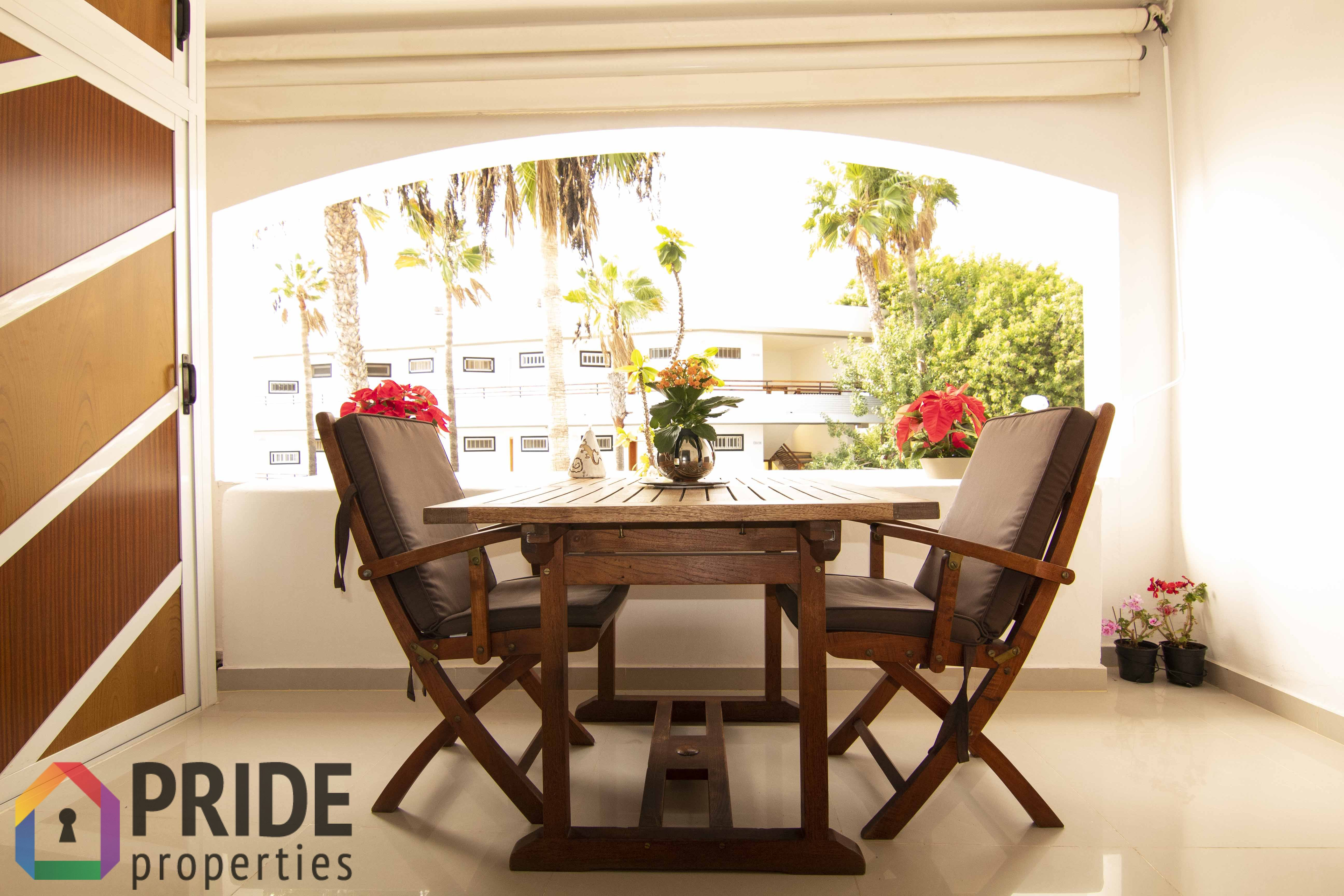 A fantastic apartment with view in San Agustin!
