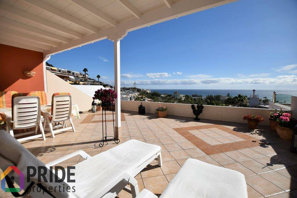 San Agustin: magnificent two bedrooms bungalow with fantastic views