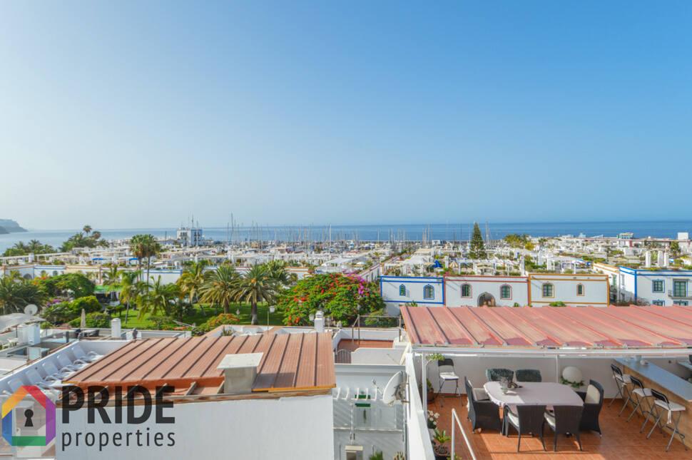 3 bedroom house with sea views, in Playa de Mogán