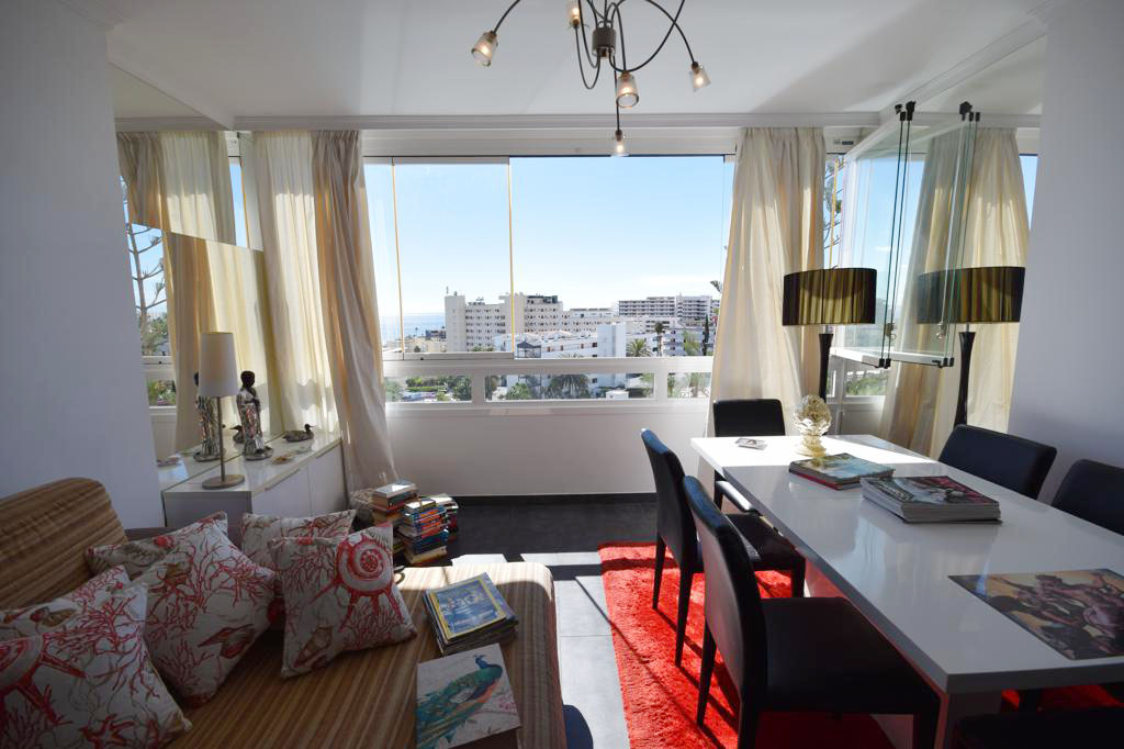 Beautiful apartment with sea views in Playa del Inglés